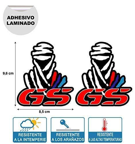 X 2 Pegatinas STIKERS Rally Compatible con Dakar GS BMW Moto
