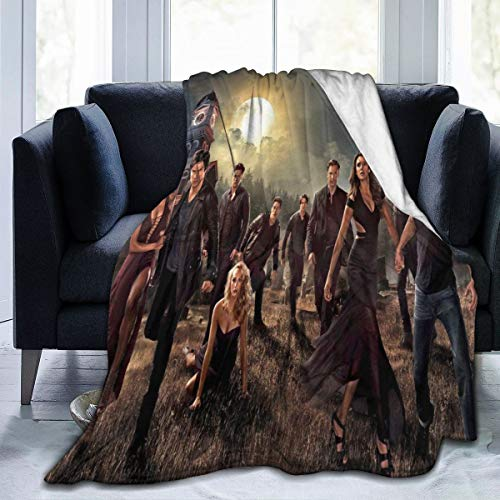 Big Big Beauty The Vampire Di-Aries Ultra-Soft Breathable Flannel Throw Blanket,60'' x50