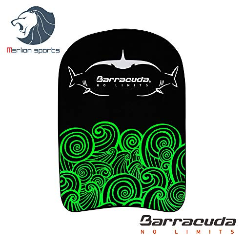 Barracuda Swimming Kickboard GLOW PARTY COMPACT SHARK/WHALE- Swim Training Aid, EVA, Float Floating Buoy, Chlorine-proof Comfortable for Children Kids IE-MAB14S (GREEN)