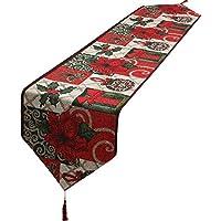 SuperLi Christmas Decorative Table Runner