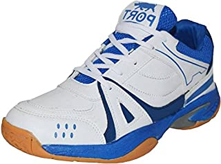 Port Men's Synthetic White Liberal Volleyball Sports Shoe