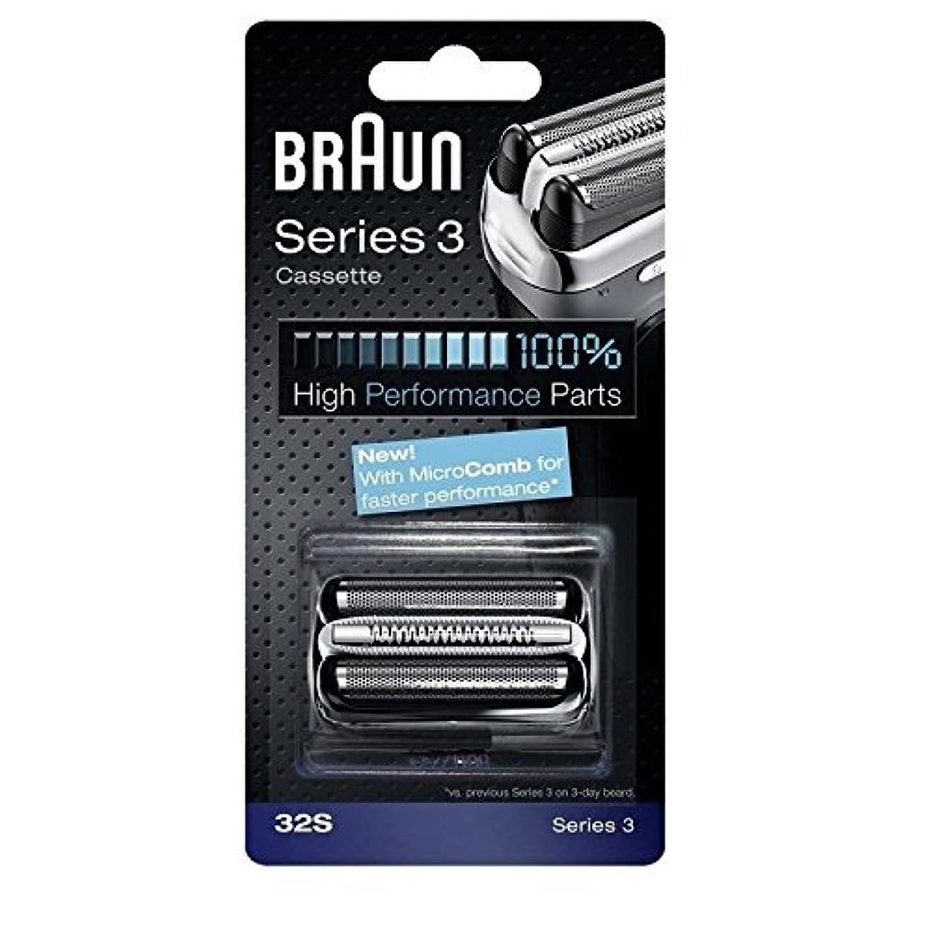 刈り取る兵隊時期尚早Braun 32S シリーズ3コンビ 32S 置換カセット [並行輸入品]