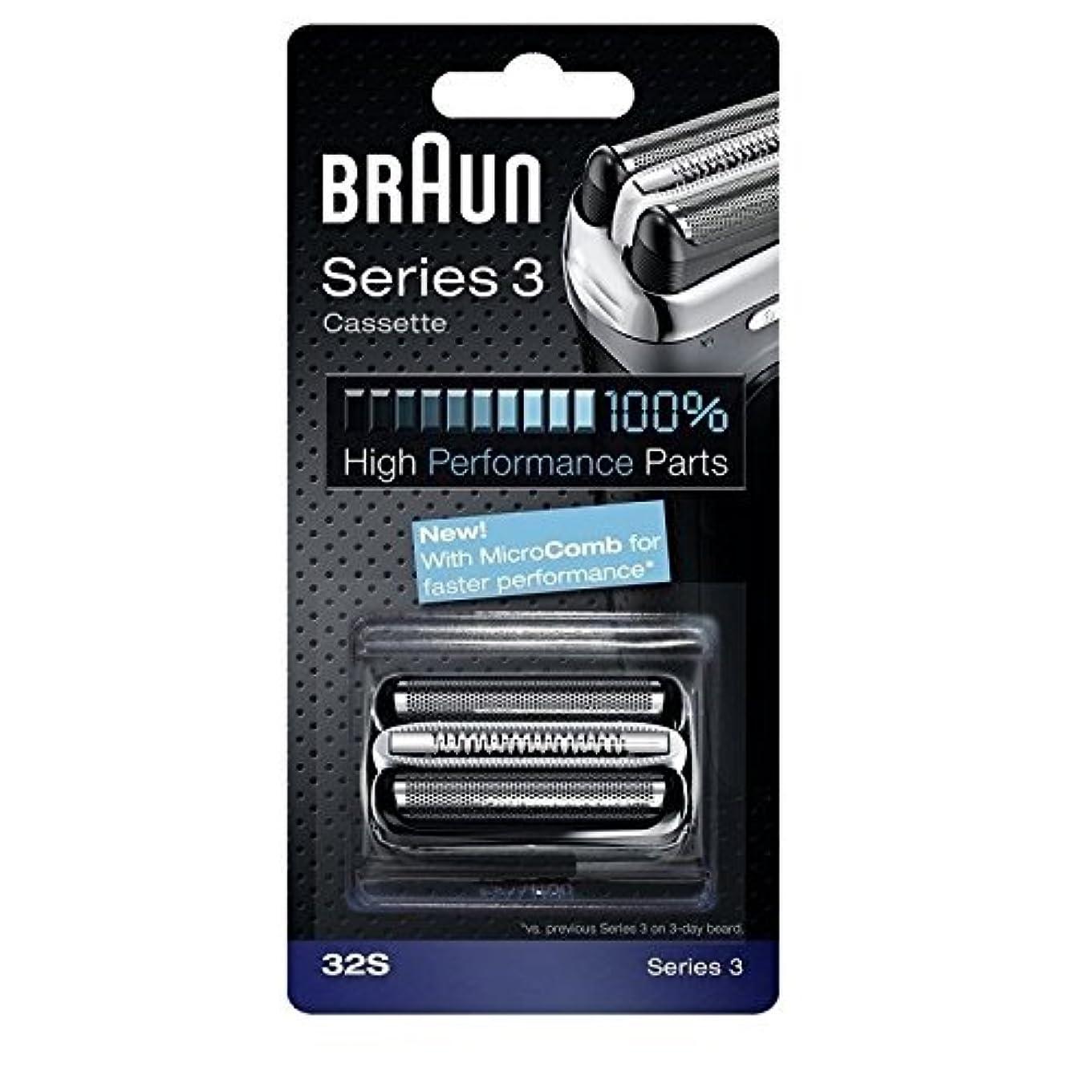 嫉妬簡単に雲Braun 32S シリーズ3コンビ 32S 置換カセット [並行輸入品]