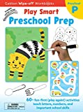 Play Smart Preschool Prep Ages 2-4: At-home Wipe-off Workbook with Erasable Marker (17)