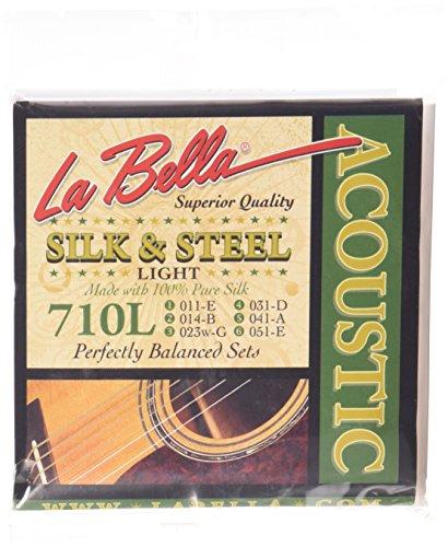 Labella 710L - Juego de cuerdas para guitarra