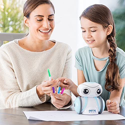 Educational Insights Artie 3000 The Coding Robot: Drawing Robot, Homeschool or Classroom, Ages 7+