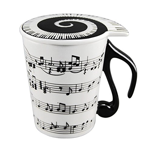 Creative Ceramic Musician Coffee Mug