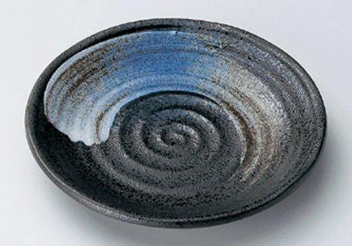 BLACK-CRYSTAL Jiki Japanese traditional Porcelain Small Plate