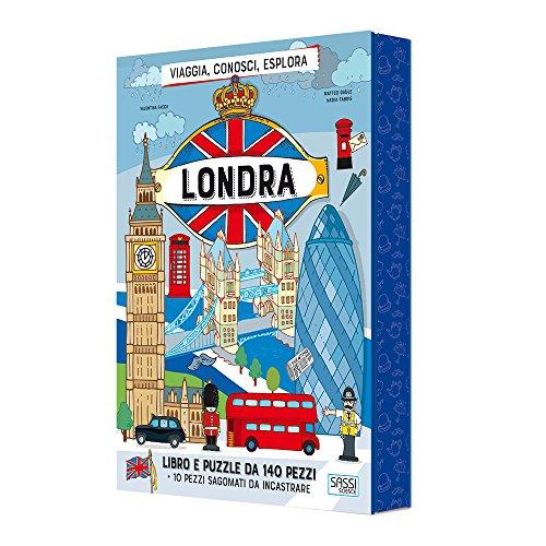 Londra. Viaggia, conosci, esplora. Con puzzle