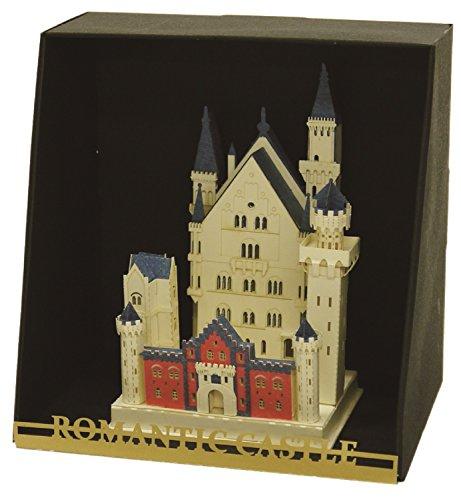 nanoblock 26044 - 3D-Bausysteme aus Papier - Schloss Neuschwanstein, Schwierigkeitsstufe 3, schwer