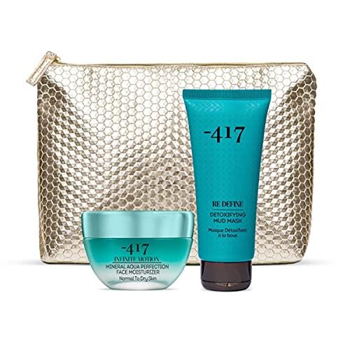 -417 Dead Sea Cosmetics Beauty Care Duo Set- Includes Mineral Peel Off Mask & Facial Moisturizer- Suitable for All Skin Types 125 ml Infinite Motion Collection