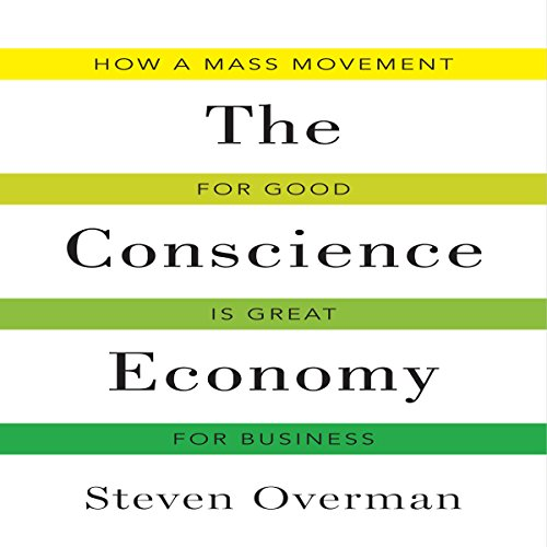 The Conscience Economy audiobook cover art