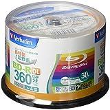 Verbatim バーベイタム 1回録画用 ブルーレイディスク BD-R DL 50GB 50枚 ホワイトプリンタブル 片面2層 1-4倍速 VBR260YP50V1