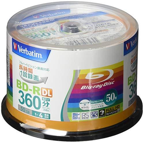 50 Verbatim Double Layer 3d Blu Ray Rohlinge 50 gb Full Printable Bluray