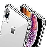 Wsky Hülle für iPhone XS Max, Transparent Crystal