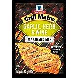 McCormick Grill Mates Garlic, Herb & Wine Marinade, 0.87 oz (Pack of 12)