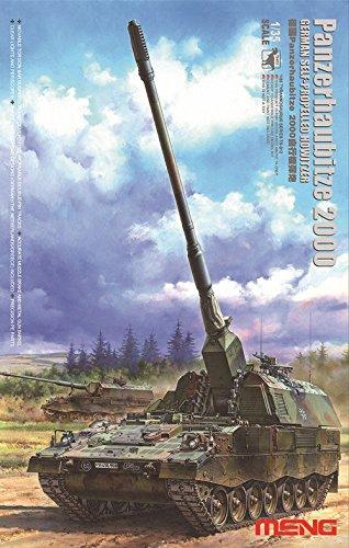 MENG TS012 1/35 Bundeswehr Panzerhaubitze 2000 - Self-Propelled Howitzer