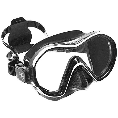 AquaLung Reveal X1 - Einglas Tauchmaske, Farbe:schwarz / weiss