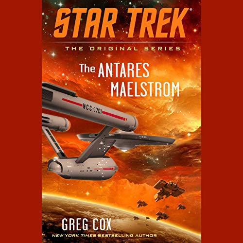 The Antares Maelstrom audiobook cover art