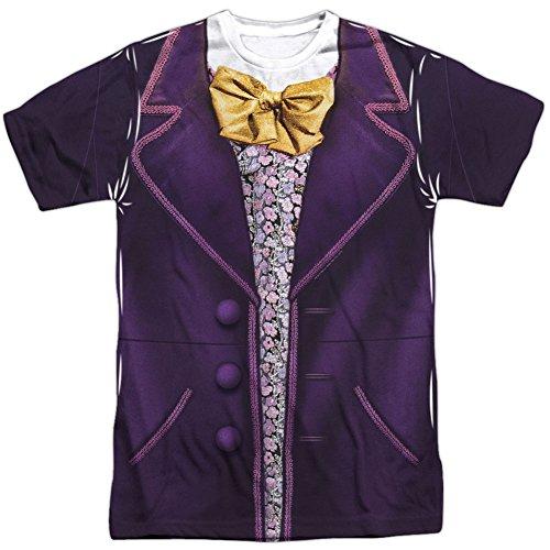 Disfraz Willy Wonka y The Chocolate Factory Wonka para adulto, color blanco