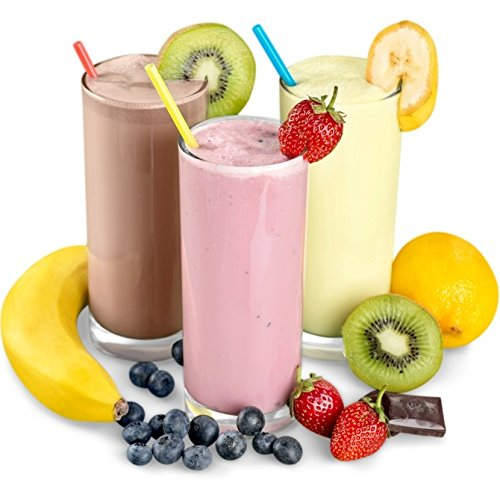 Erdbeer Geschmack Slim Diätdrink Pulver mit L-Carnitin auch als Mahlzeitersatz Diät Shake zum Abnehmen