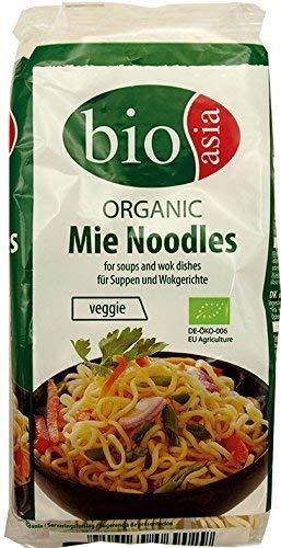 BIOASIA Bio Mie Nudeln, Weizennudeln ohne Ei, schnell und einfach zubereitet, vegetarisch (8 x 250 g)