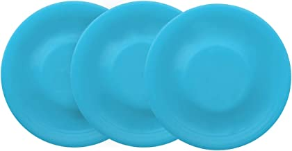 YSChip 3 Pack in 1 Pocket Flying Disc. Mini Stability Disc. Outdoor Game and Frisbee for Dogs and Kids. Soft Play Equipment for Beach Game and Pocket Frisbee. Flying Distance 200 Ft. / 65 Yds.