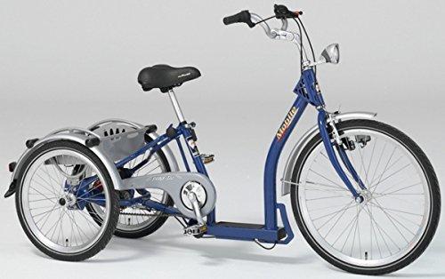 PFAU-TEC Dreirad Mobile 24/20, blau, 3-Gang SRAM i-MOTION
