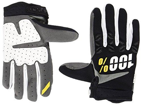 Inconnu 100% Airmatic Handschuhe Unisex Erwachsene, schwarz, fr: XXL (Größe Hersteller: XXL)