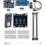 Temperatura Sensor de presión atmosférica Humedad Sensor de pan sin costura ESP8266 Estación meteorológica Módulo Kit Control industrial