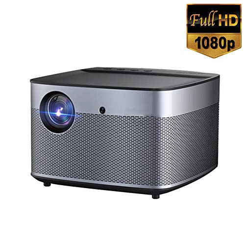 FMXYMC 2020 New Projector, Automatic Focusing 1350 Ansi Lumens 300 Inches Dlp 30000 Hours for School Living Room Dormitory
