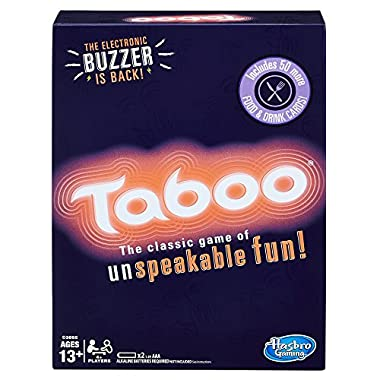Taboo, Party Game, Ages 13 and up (Amazon Exclusive)