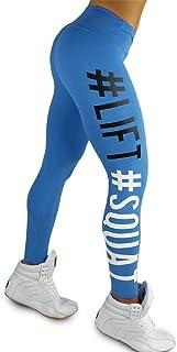 ✅Zalanala Womens Workout Camouflage Leggings Fitness Sports Gym Running High Waist Yoga Athletic Pants