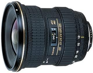 Tokina Tokina 12mm - 24mm f/4 PRO DX Autofocus Zoom Lens for Canon EOS Digital SLR Cameras.