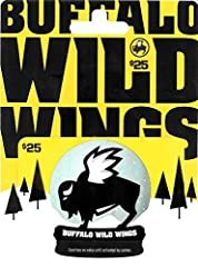 Buffalo Wild Wings is a sports bar featuring everything from wings to appetizers to salads to burgers, with a wide variety of signature sauces and seasonings. Stop in with your gift card and purchase food, product, beverage or alcohol (where permitte...