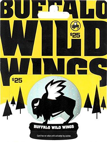 Buffalo Wild Wings Holiday Gift Card $25