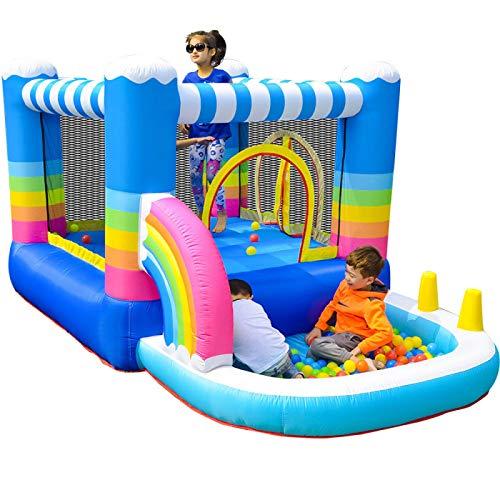 ZHENGRUI Castillo Hinchable 290X200X155cm Juego de Castillo Infantil para niños de 3 a 10 años