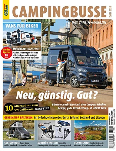 pro mobil Extra Campingbusse: Das Vanlife Magazin - Heft 02/2020