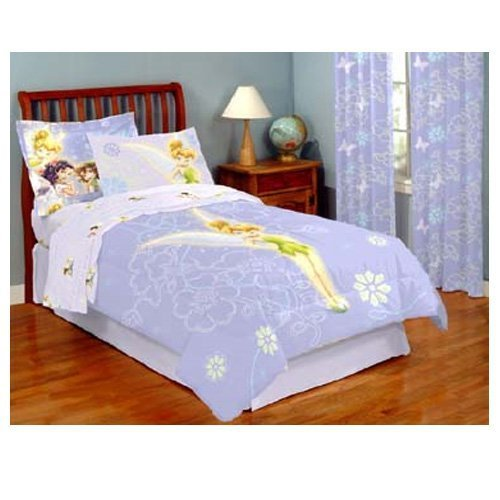 Disney fairy friends and tinkerbell purple duvet