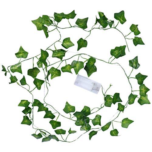 VALICLUD 20 Stks Led Kunstmatige Guirlande Nep Wijnstokken Bloem Krans Bloemenkrans Opknoping Plant Decoratie Voor Bruiloft Vakantie Thuis
