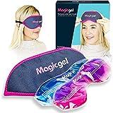 Eye Mask for Dry Eyes | Hot Cold Eye Mask | Warm Eye Compress | Heat Eye Mask for Styes, Blepharitis, MGD & Tired Eyes by Magic Gel