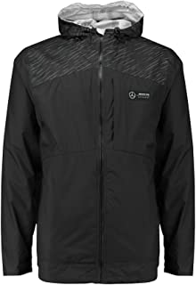 Mercedes Benz AMG Petronas Formula 1 Men's Black Rain Jacket