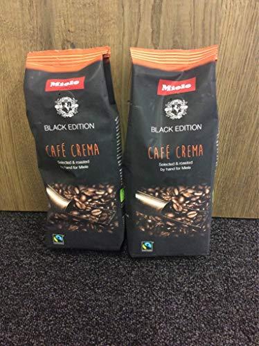 Miele&CIE Kaffeebohnen CafeCrema (250g) Black Edition Getränk 4002516084303