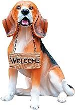 Simulatie hond decoratie hars dier sculptuur woninginrichting