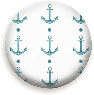 Covers Spare Tire Cover Wheel Protectors Weatherproof Polyester Tire Case for All Cars Jeep RV SUV Camper 14 15 16 17 Inch Marine Anchor Starfish Sailboat Abstract