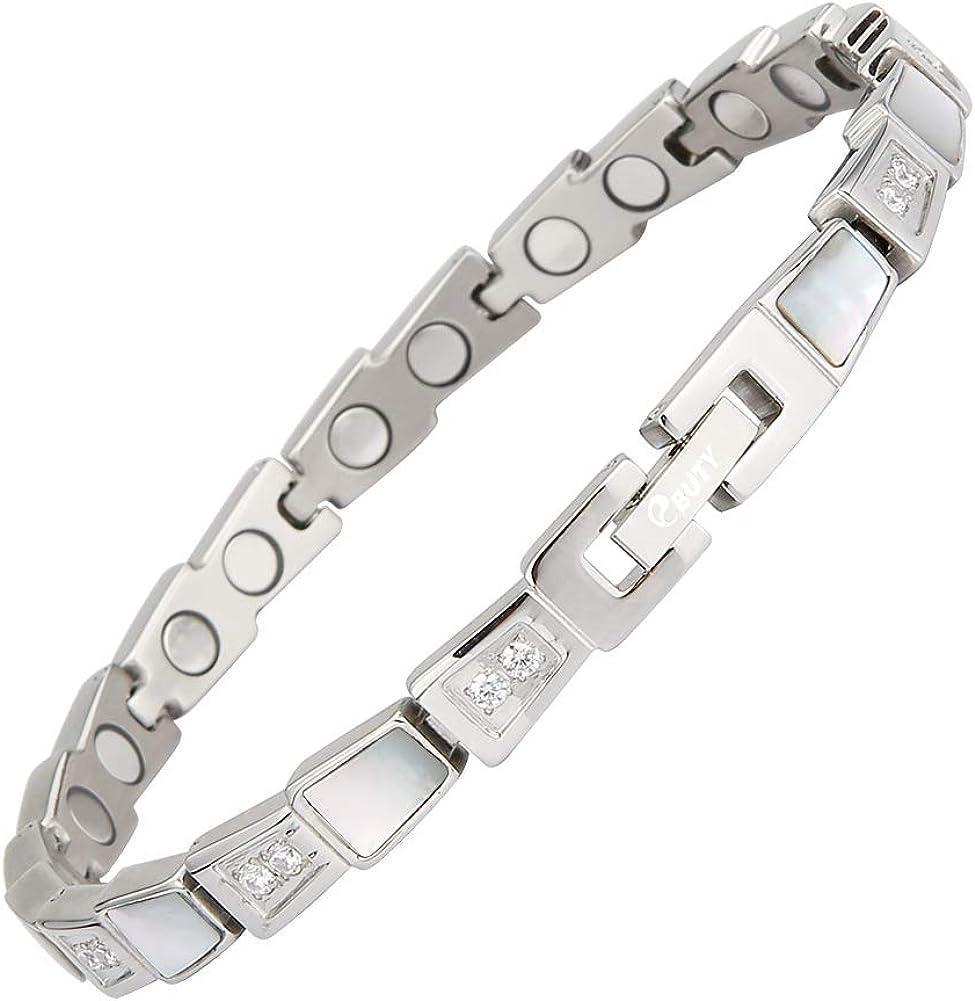 EBUTY Magnetic Bracelet Free Shipping Cheap Bargain Gift for Zirconia Sparkling Women Bombing new work Cubic