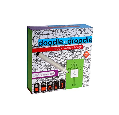 The Purple Cow Doodle Drawing Games - with this Party Art Drawing Game You Can Draw Anything! Your Favorite Picture Or Something Exciting! Family Fun, Epic For Kids & Adults