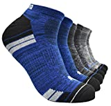 Puma Men's P114390-431 Sportstyle Low Cut Socks, 6 Pairs, Shoe Size 6-12 (Black/Blue) Sock Size 10-13 from Puma