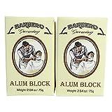 Barbero Alum Block 2.64 oz / 75 g Pack of 2