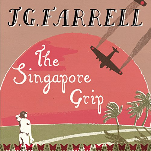 The Singapore Grip audiobook cover art